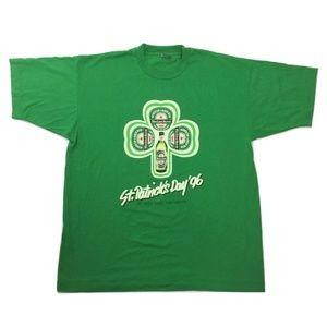 HEINEKEN St.Patrick's Shamrock T-shirt XL Green 96